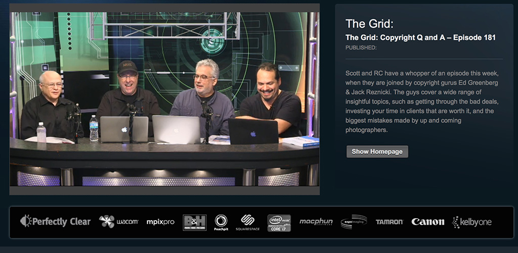A fun filled info fest on the set of The Grid